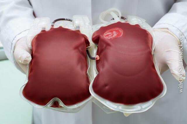 Sichere Bluttransfusionen