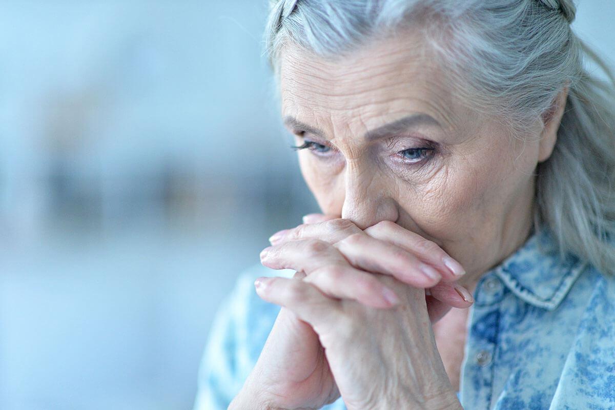 Unterschätzt: Depression im Alter