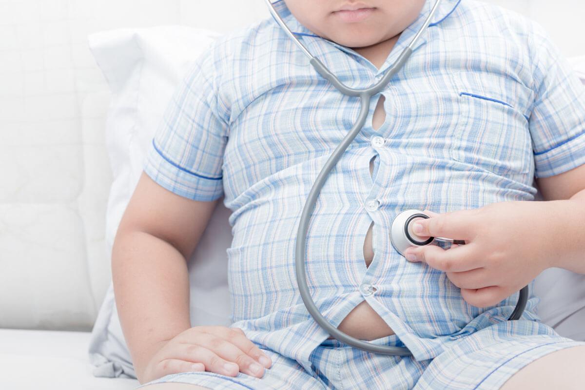 Höhere Sterberate bei dicken Kindern