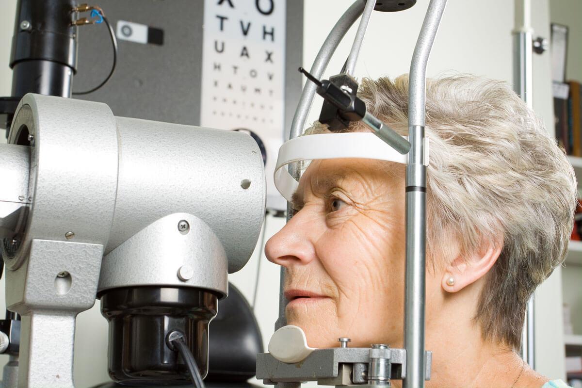 Erblindung durch Arterienverschluss