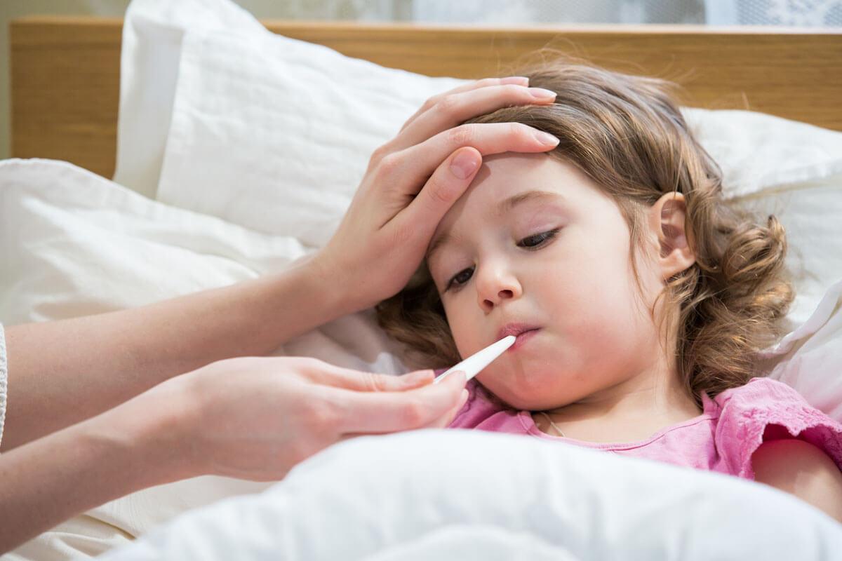 Grippe oder Covid-19 beim Kind?