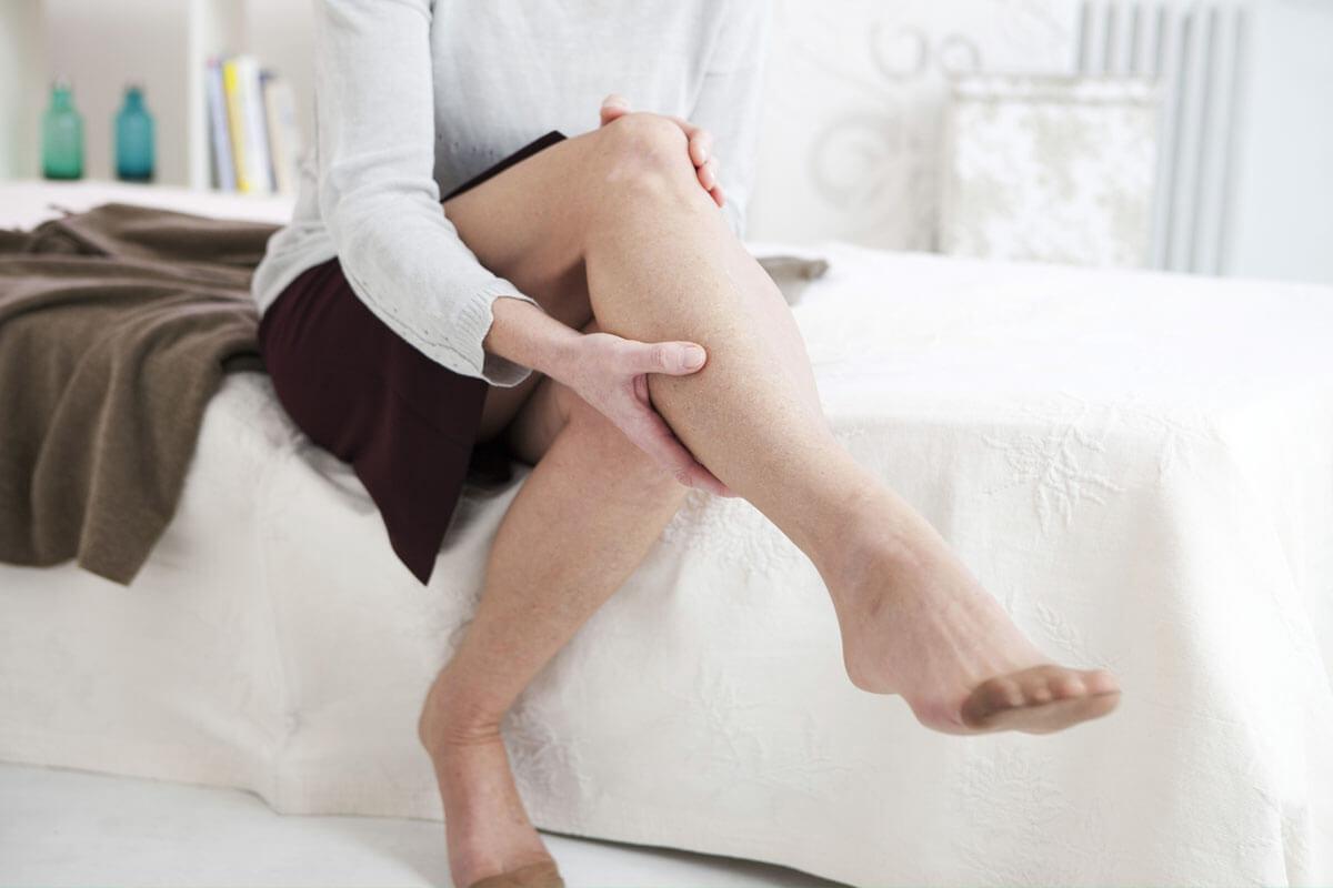 Hitze macht den Beinen zu schaffen