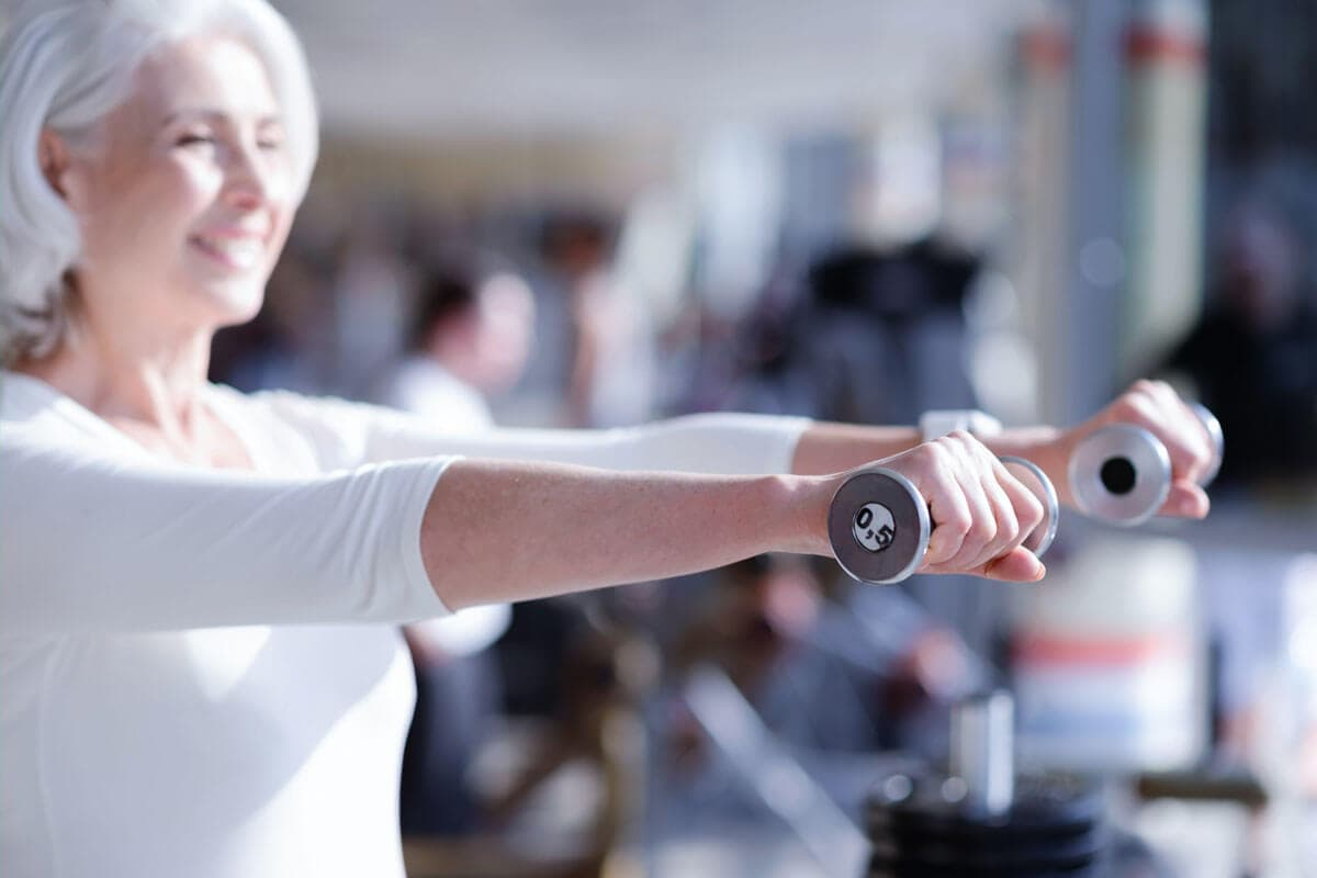 Muskelschwund im Alter