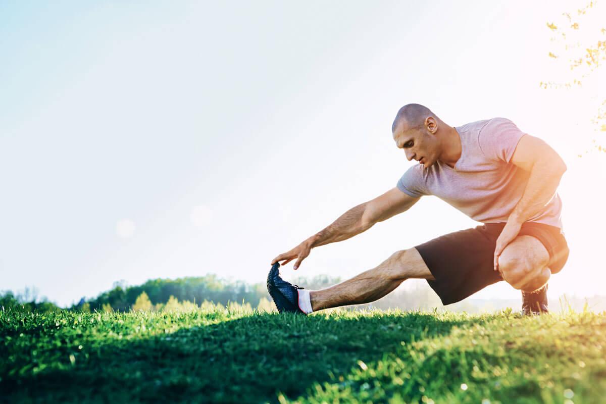 O-Beine durch Leistungs-Kicken