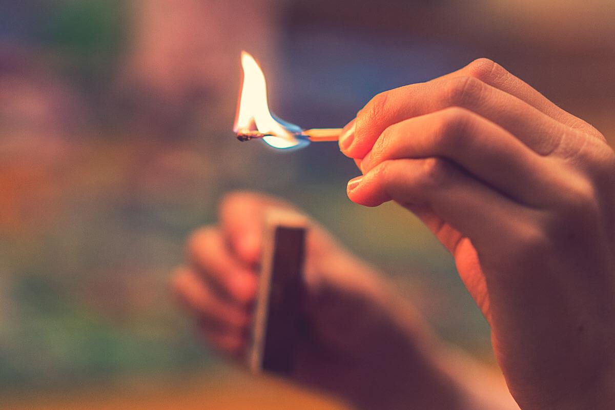 Erste Hilfe bei Verbrennungen