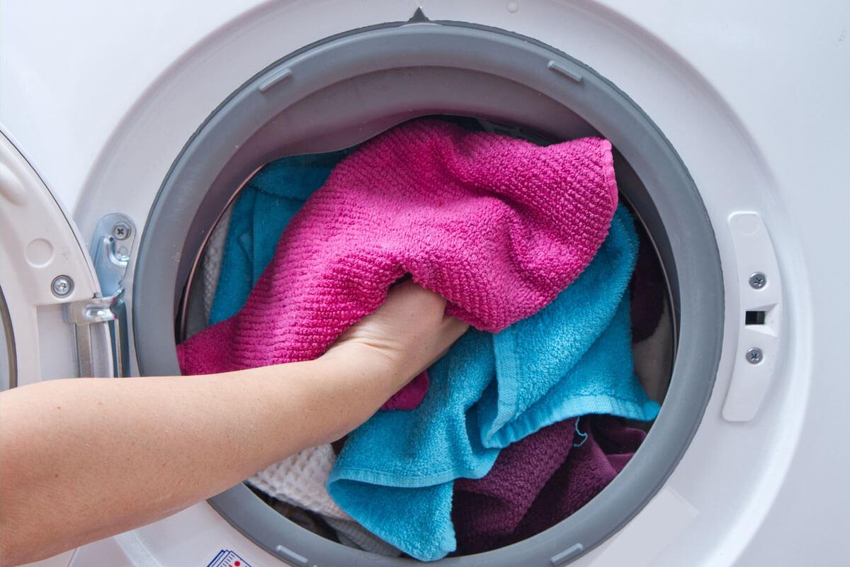 Waschmaschine verbreitet Bakterien