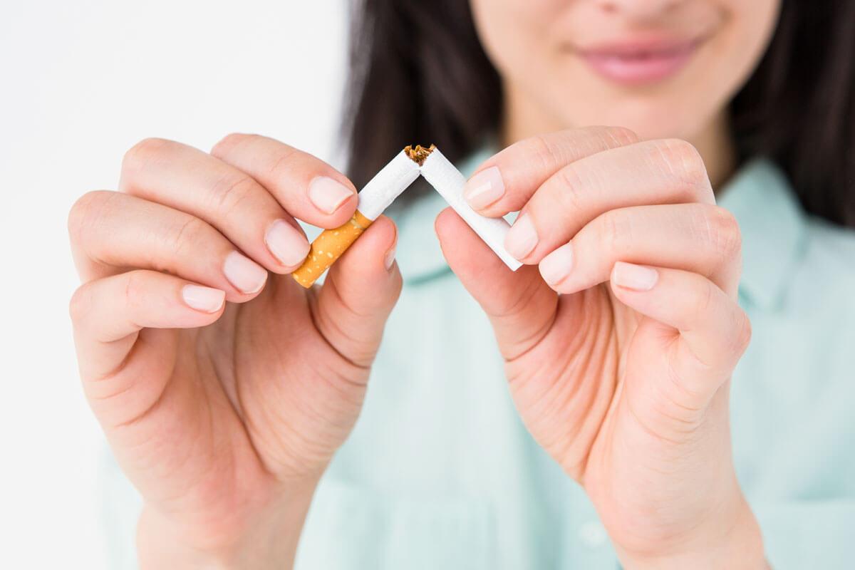 Weniger rauchen allein schützt nicht